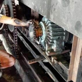 Project 4kW Explosion proof Geared Motor for Shuttle Guntry