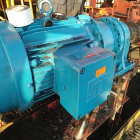 Project 22kW Ex-proof Geared Motor for Unloader 2 Conveyer
