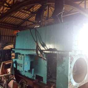 Project 300kW 3.3kV Conveyor Motor