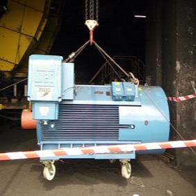 Project 355kW 3.3kV Crusher Motor